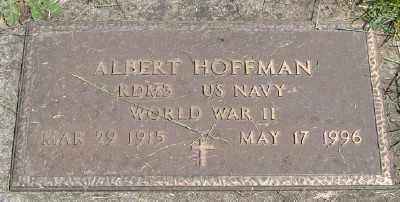 HOFFMAN, ALBERT - Polk County, Oregon | ALBERT HOFFMAN - Oregon Gravestone Photos