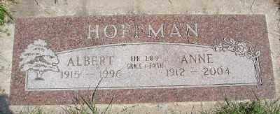 HOFFMAN, ALBERT - Polk County, Oregon   ALBERT HOFFMAN - Oregon Gravestone Photos