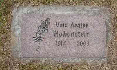 HOHENSTEIN, VETA AZALEE - Polk County, Oregon | VETA AZALEE HOHENSTEIN - Oregon Gravestone Photos