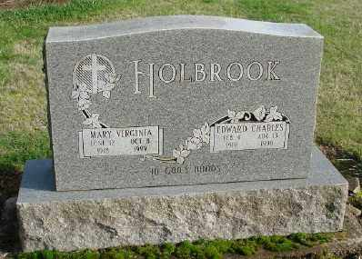 HOLBROOK, EDWARD CHARLES - Polk County, Oregon | EDWARD CHARLES HOLBROOK - Oregon Gravestone Photos