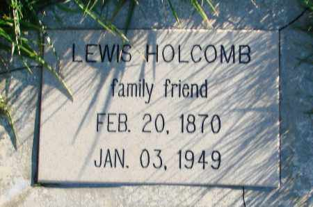 HOLCOMB, LEWIS - Polk County, Oregon   LEWIS HOLCOMB - Oregon Gravestone Photos