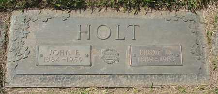 HOLT, JOHN E - Polk County, Oregon | JOHN E HOLT - Oregon Gravestone Photos