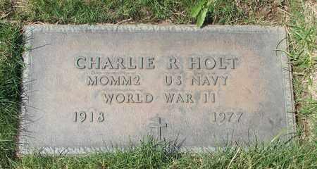 HOLT, CHARLIE R - Polk County, Oregon | CHARLIE R HOLT - Oregon Gravestone Photos