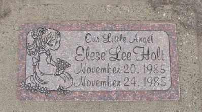HOLT, ELESE L - Polk County, Oregon | ELESE L HOLT - Oregon Gravestone Photos