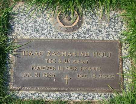 HOLT, ISAAC ZACHARIAH - Polk County, Oregon | ISAAC ZACHARIAH HOLT - Oregon Gravestone Photos