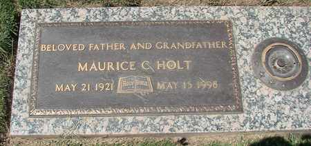 HOLT, MAURICE CLYDE - Polk County, Oregon | MAURICE CLYDE HOLT - Oregon Gravestone Photos