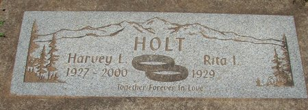 HOLT, RITA I - Polk County, Oregon | RITA I HOLT - Oregon Gravestone Photos