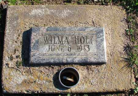 HOLT, WILMA - Polk County, Oregon | WILMA HOLT - Oregon Gravestone Photos