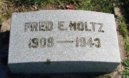 HOLTZ, FRED E - Polk County, Oregon   FRED E HOLTZ - Oregon Gravestone Photos