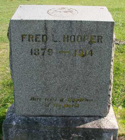 HOOPER, FRED L - Polk County, Oregon | FRED L HOOPER - Oregon Gravestone Photos