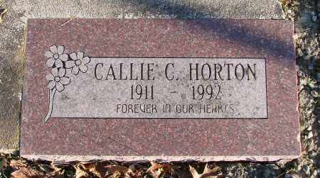 HORTON, CALLIE C - Polk County, Oregon | CALLIE C HORTON - Oregon Gravestone Photos