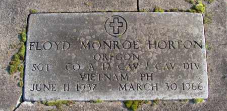 HORTON, FLOYD MONROE - Polk County, Oregon | FLOYD MONROE HORTON - Oregon Gravestone Photos