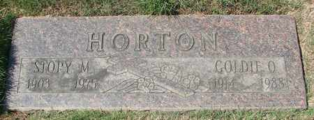HORTON, STORY M - Polk County, Oregon | STORY M HORTON - Oregon Gravestone Photos