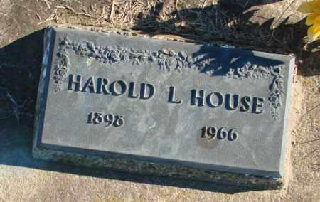 HOUSE, HAROLD L - Polk County, Oregon | HAROLD L HOUSE - Oregon Gravestone Photos