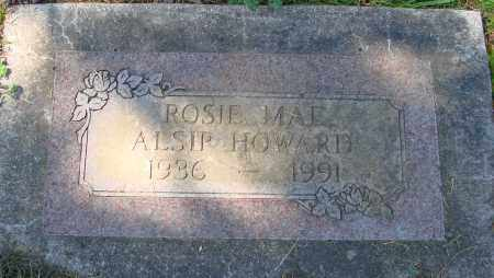 ALSIP HOWARD, ROSE MAE - Polk County, Oregon | ROSE MAE ALSIP HOWARD - Oregon Gravestone Photos