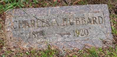 HUBBARD, CHARLES A - Polk County, Oregon | CHARLES A HUBBARD - Oregon Gravestone Photos