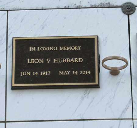 HUBBARD, LEON VERIL - Polk County, Oregon | LEON VERIL HUBBARD - Oregon Gravestone Photos