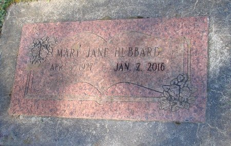 HUBBARD, MARY JANE - Polk County, Oregon | MARY JANE HUBBARD - Oregon Gravestone Photos