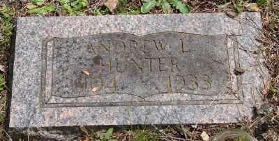HUNTER, ANDREW L - Polk County, Oregon   ANDREW L HUNTER - Oregon Gravestone Photos