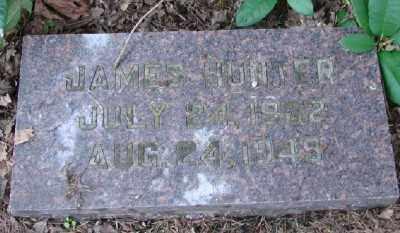 HUNTER, JAMES - Polk County, Oregon | JAMES HUNTER - Oregon Gravestone Photos