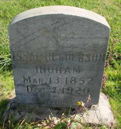 INGRAM, ISSAE HENDERSON - Polk County, Oregon | ISSAE HENDERSON INGRAM - Oregon Gravestone Photos