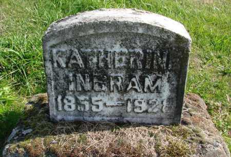INGRAM, KATHERINE - Polk County, Oregon | KATHERINE INGRAM - Oregon Gravestone Photos