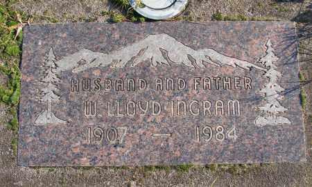 INGRAM, W LLOYD - Polk County, Oregon | W LLOYD INGRAM - Oregon Gravestone Photos