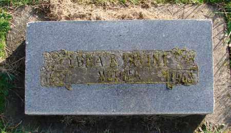 IRVINE, EDNA B - Polk County, Oregon   EDNA B IRVINE - Oregon Gravestone Photos