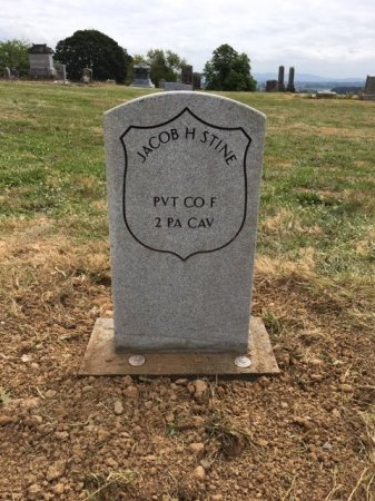 STINE, JACOB H - Polk County, Oregon | JACOB H STINE - Oregon Gravestone Photos