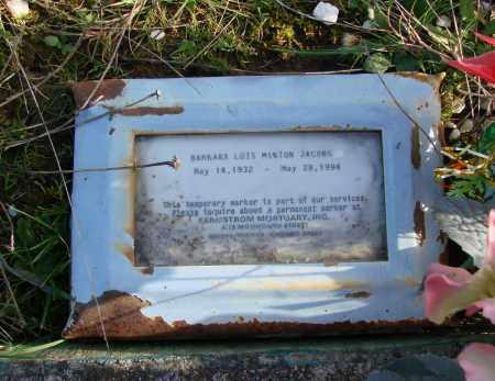 JACOBS, BARBARA LOIS - Polk County, Oregon | BARBARA LOIS JACOBS - Oregon Gravestone Photos