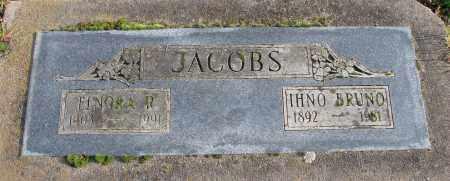 JACOBS, ELNORA R - Polk County, Oregon | ELNORA R JACOBS - Oregon Gravestone Photos