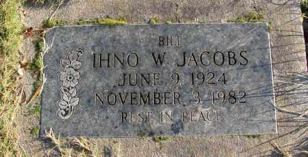 JACOBS, IHNO W - Polk County, Oregon | IHNO W JACOBS - Oregon Gravestone Photos