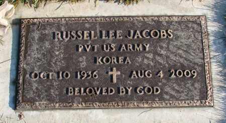 JACOBS (KOR), RUSSEL LEE - Polk County, Oregon | RUSSEL LEE JACOBS (KOR) - Oregon Gravestone Photos