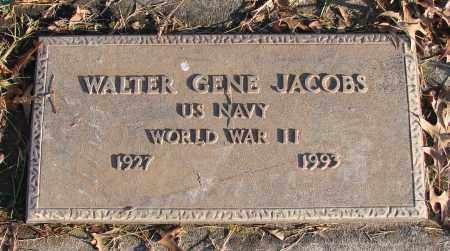 JACOBS (WWII), WALTER GENE - Polk County, Oregon   WALTER GENE JACOBS (WWII) - Oregon Gravestone Photos