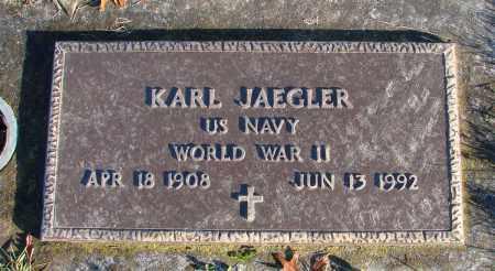 JAEGLER, KARL - Polk County, Oregon | KARL JAEGLER - Oregon Gravestone Photos
