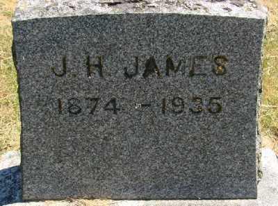 JAMES, J H - Polk County, Oregon | J H JAMES - Oregon Gravestone Photos