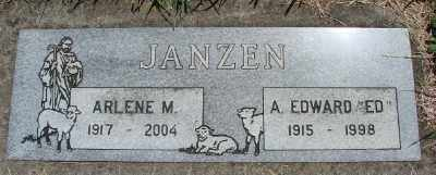 JANZEN, ARLENE M - Polk County, Oregon   ARLENE M JANZEN - Oregon Gravestone Photos