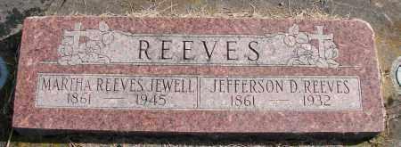 REEVES JEWELL, MARTHA - Polk County, Oregon | MARTHA REEVES JEWELL - Oregon Gravestone Photos