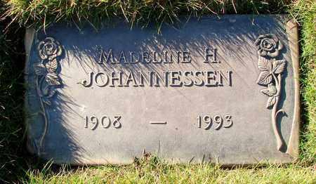 JOHANNESSEN, MADELINE H - Polk County, Oregon | MADELINE H JOHANNESSEN - Oregon Gravestone Photos