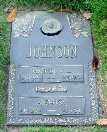 JOHNSON, AUGUSTA DAISY - Polk County, Oregon | AUGUSTA DAISY JOHNSON - Oregon Gravestone Photos