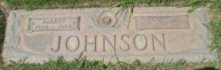 JOHNSON, ALBERT - Polk County, Oregon | ALBERT JOHNSON - Oregon Gravestone Photos