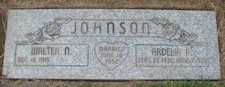 JOHNSON, WALTER N - Polk County, Oregon | WALTER N JOHNSON - Oregon Gravestone Photos