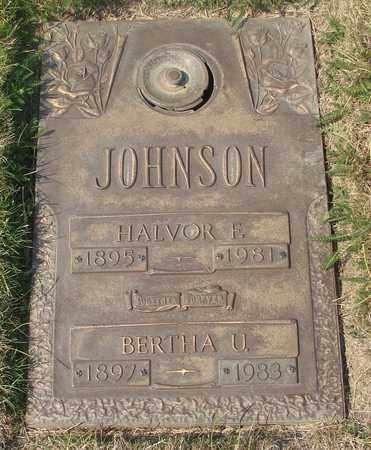 JOHNSON, HALVOR F - Polk County, Oregon | HALVOR F JOHNSON - Oregon Gravestone Photos