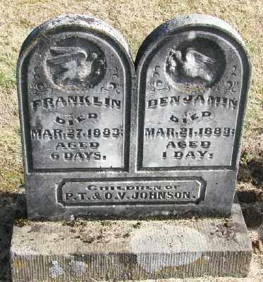JOHNSON, FRANKLIN - Polk County, Oregon | FRANKLIN JOHNSON - Oregon Gravestone Photos