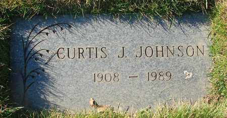 JOHNSON, CURTIS JEROME - Polk County, Oregon | CURTIS JEROME JOHNSON - Oregon Gravestone Photos