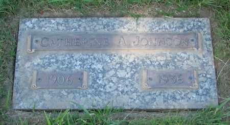 JOHNSON, CATHERINE ANN - Polk County, Oregon | CATHERINE ANN JOHNSON - Oregon Gravestone Photos