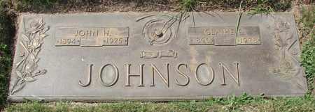 JOHNSON, CLARIE E - Polk County, Oregon | CLARIE E JOHNSON - Oregon Gravestone Photos