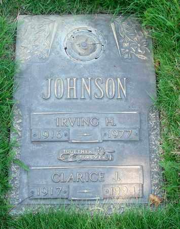 JOHNSON, CLARICE JUANITA - Polk County, Oregon | CLARICE JUANITA JOHNSON - Oregon Gravestone Photos