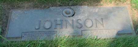 JOHNSON, CLAUDE S - Polk County, Oregon | CLAUDE S JOHNSON - Oregon Gravestone Photos