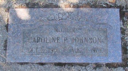 JOHNSON, CAROLINE P - Polk County, Oregon   CAROLINE P JOHNSON - Oregon Gravestone Photos